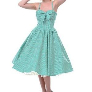Unique Vintage Swing Dress